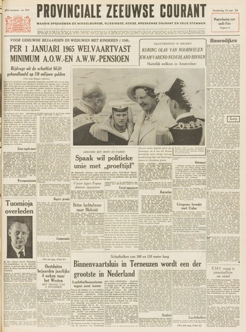 Provinciale Zeeuwse Courant 1964-09-10