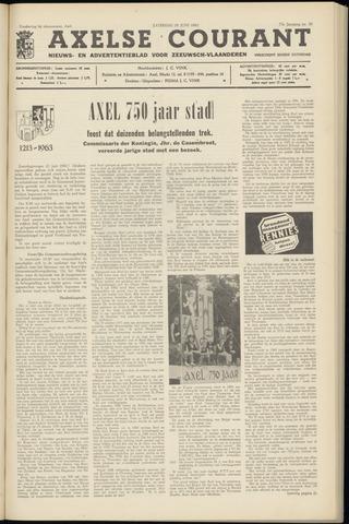 Axelsche Courant 1963-06-29