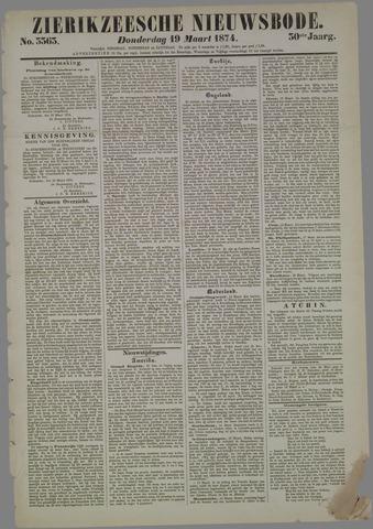 Zierikzeesche Nieuwsbode 1874-03-19