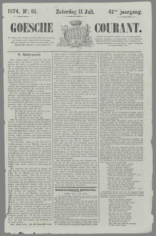 Goessche Courant 1874-07-11