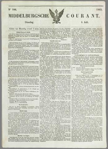 Middelburgsche Courant 1865-07-04