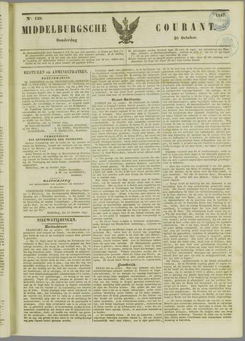 Middelburgsche Courant 1847-10-28