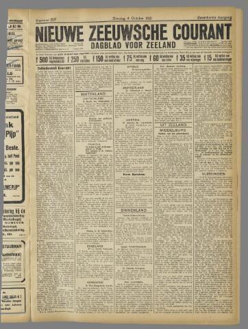 Nieuwe Zeeuwsche Courant 1921-10-04