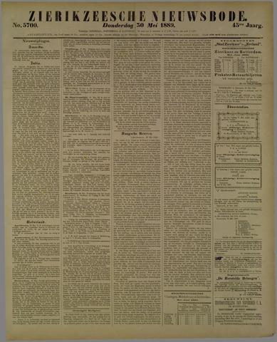 Zierikzeesche Nieuwsbode 1889-05-30