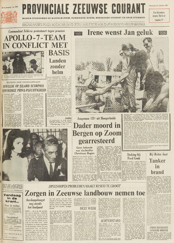 Provinciale Zeeuwse Courant 1968-10-21