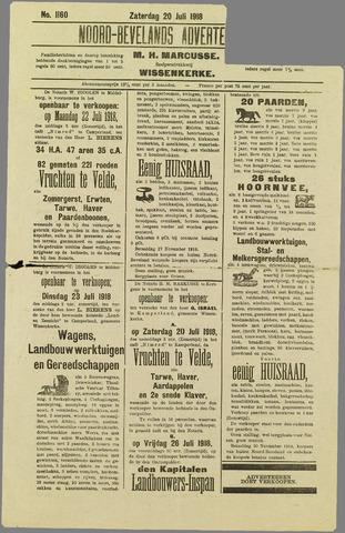 Noord-Bevelands Nieuws- en advertentieblad 1918