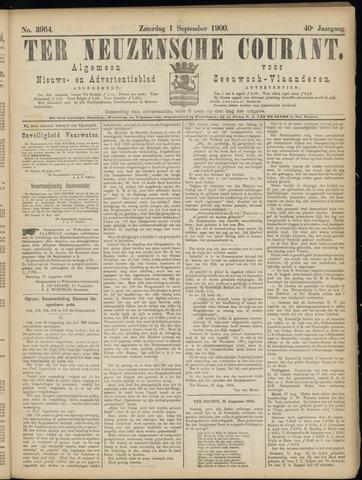 Ter Neuzensche Courant. Algemeen Nieuws- en Advertentieblad voor Zeeuwsch-Vlaanderen / Neuzensche Courant ... (idem) / (Algemeen) nieuws en advertentieblad voor Zeeuwsch-Vlaanderen 1900-09-01