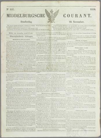 Middelburgsche Courant 1859-11-24
