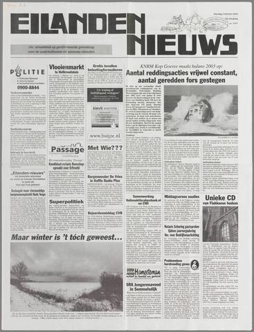 Eilanden-nieuws. Christelijk streekblad op gereformeerde grondslag 2004-02-03