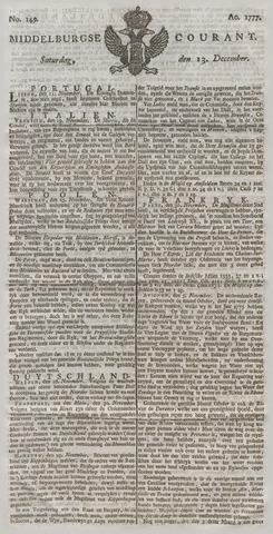 Middelburgsche Courant 1777-12-13