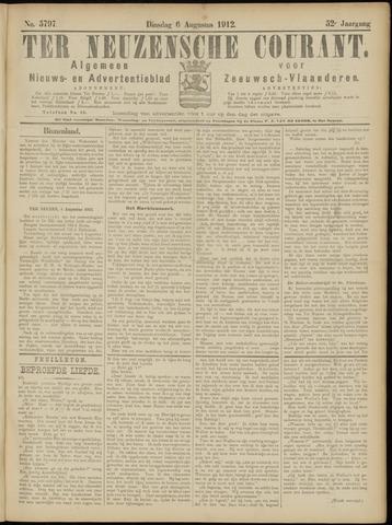 Ter Neuzensche Courant. Algemeen Nieuws- en Advertentieblad voor Zeeuwsch-Vlaanderen / Neuzensche Courant ... (idem) / (Algemeen) nieuws en advertentieblad voor Zeeuwsch-Vlaanderen 1912-08-06