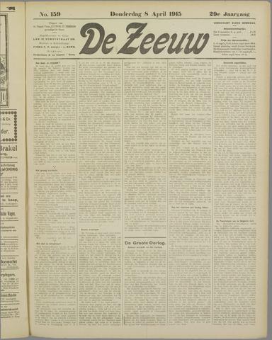 De Zeeuw. Christelijk-historisch nieuwsblad voor Zeeland 1915-04-08