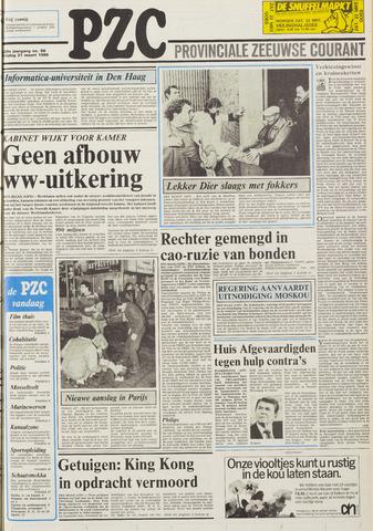 Provinciale Zeeuwse Courant 1986-03-21