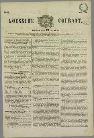 Goessche Courant 1851-03-27