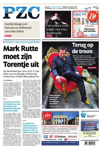 Provinciale Zeeuwse Courant 2015-09-22