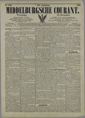 Middelburgsche Courant 1893-12-20