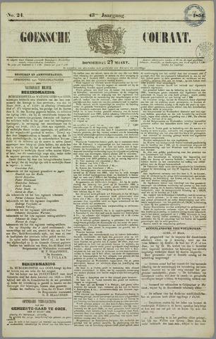 Goessche Courant 1856-03-27