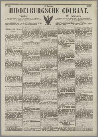 Middelburgsche Courant 1897-02-26