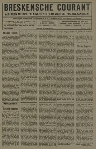 Breskensche Courant 1924-08-02