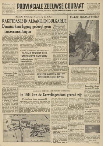 Provinciale Zeeuwse Courant 1958-01-22