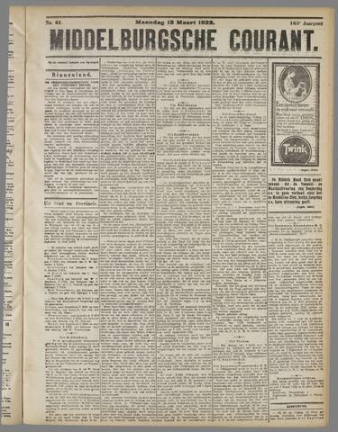 Middelburgsche Courant 1922-03-13