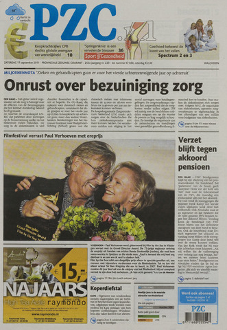 Provinciale Zeeuwse Courant 2011-09-17