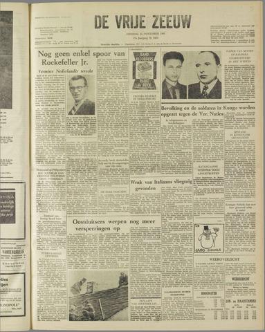 de Vrije Zeeuw 1961-11-21