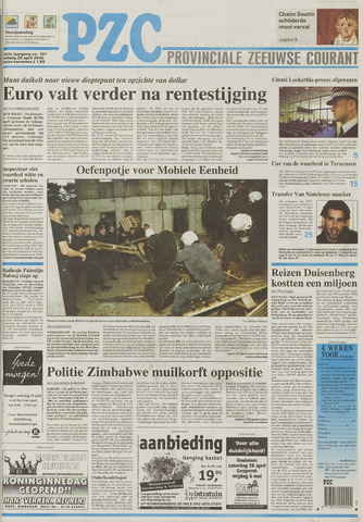 Provinciale Zeeuwse Courant 2000-04-28