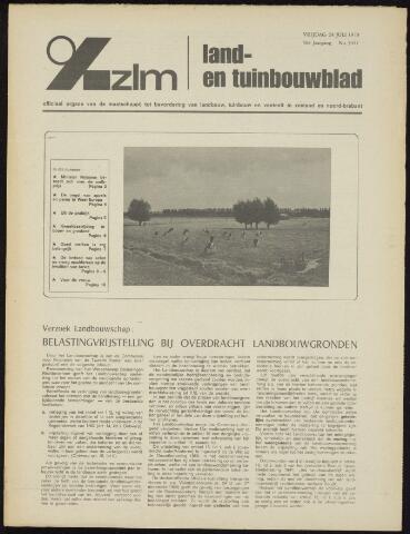 Zeeuwsch landbouwblad ... ZLM land- en tuinbouwblad 1970-07-22