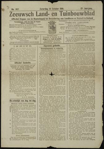 Zeeuwsch landbouwblad ... ZLM land- en tuinbouwblad 1919