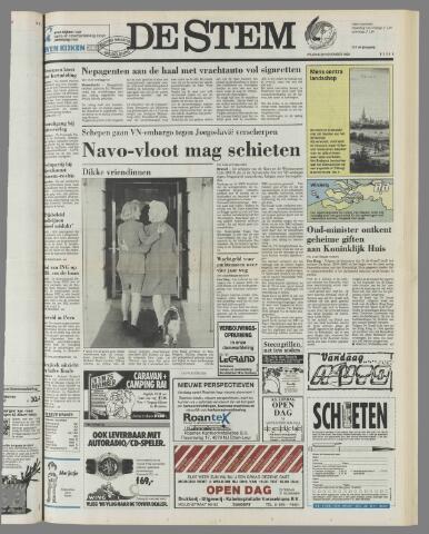 de Stem 1992-11-20