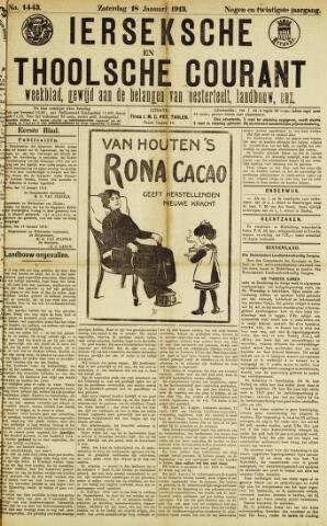 Ierseksche en Thoolsche Courant 1913-01-18