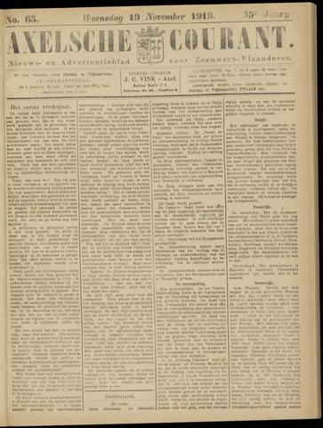 Axelsche Courant 1919-11-19