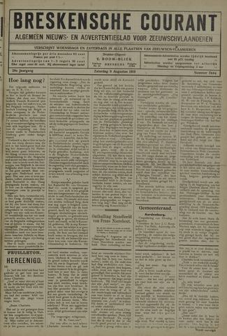 Breskensche Courant 1919-08-09