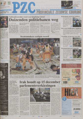 Provinciale Zeeuwse Courant 2005-10-17
