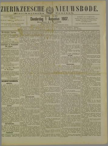Zierikzeesche Nieuwsbode 1907-08-01
