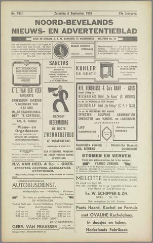 Noord-Bevelands Nieuws- en advertentieblad 1936-09-05