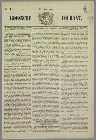 Goessche Courant 1854-02-23