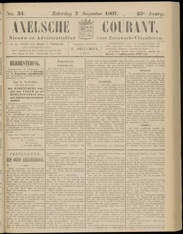 Axelsche Courant 1907-08-03