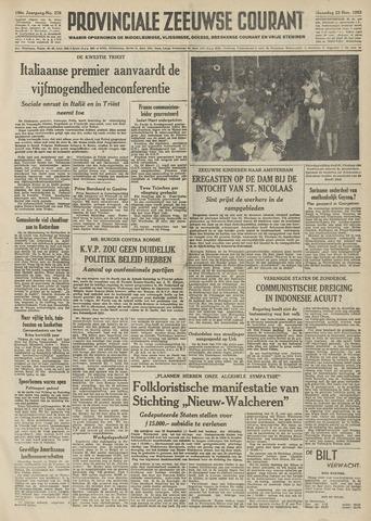 Provinciale Zeeuwse Courant 1953-11-23