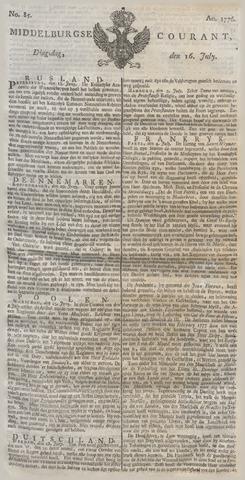 Middelburgsche Courant 1776-07-16