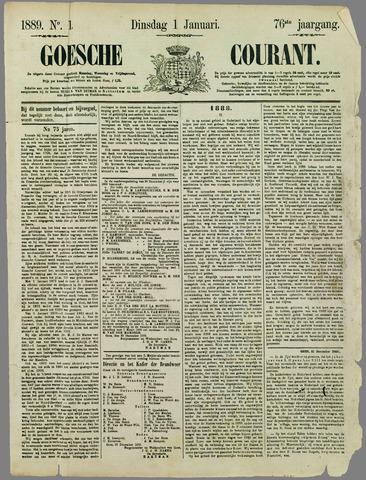 Goessche Courant 1889