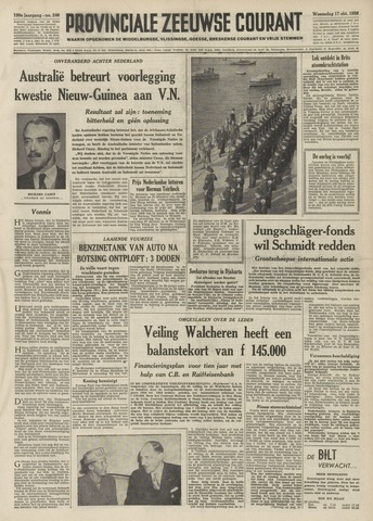 Provinciale Zeeuwse Courant 1956-10-17