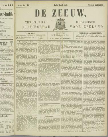De Zeeuw. Christelijk-historisch nieuwsblad voor Zeeland 1888-06-09