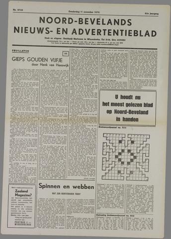 Noord-Bevelands Nieuws- en advertentieblad 1976-11-11