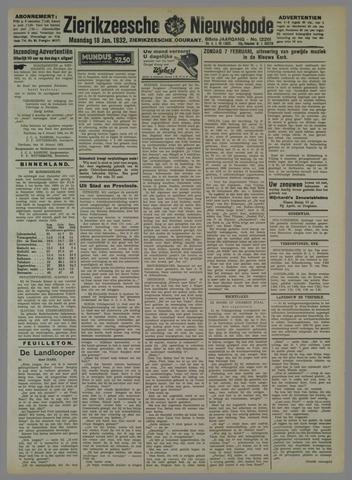 Zierikzeesche Nieuwsbode 1932-01-18