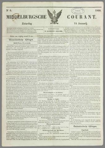 Middelburgsche Courant 1860-01-14