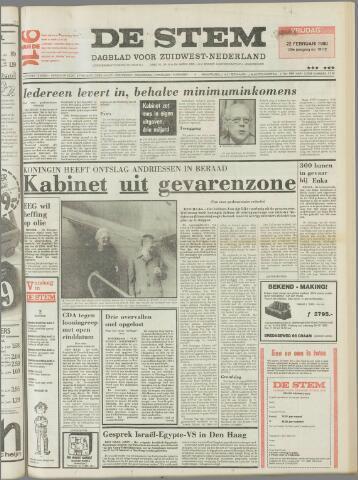 de Stem 1980-02-22