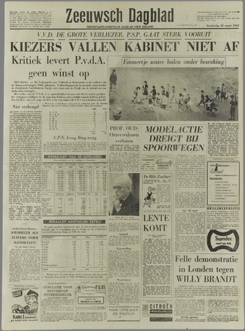 Zeeuwsch Dagblad 1962-03-29