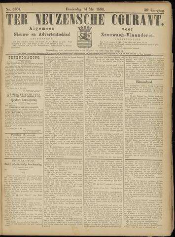 Ter Neuzensche Courant. Algemeen Nieuws- en Advertentieblad voor Zeeuwsch-Vlaanderen / Neuzensche Courant ... (idem) / (Algemeen) nieuws en advertentieblad voor Zeeuwsch-Vlaanderen 1896-05-14